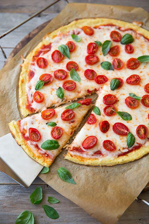 Pâte a pizza au chou-fleur... A essayer!