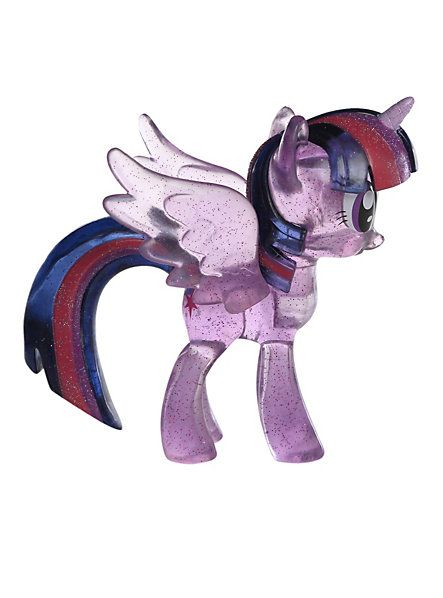 My Little Pony Twilight Sparkle Vinyl Figure Pre-Order Hot Topic Exclusive, 1/24 gets the rare clear glitter variant! $16.50