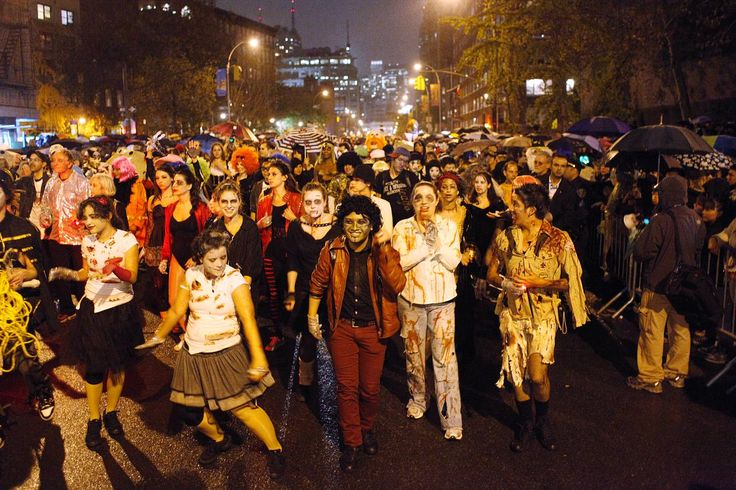 Image result for halloween parade nyc