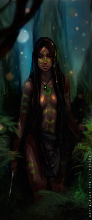 female wild wood elf ranger dryad druid armor clothes clothing fashion player character npc   Create your own roleplaying game material w/ RPG Bard: www.rpgbard.com   Writing inspiration for Dungeons and Dragons DND D&D Pathfinder PFRPG Warhammer 40k Star Wars Shadowrun Call of Cthulhu Lord of the Rings LoTR + d20 fantasy science fiction scifi horror design   Not Trusty Sword art: click artwork for source