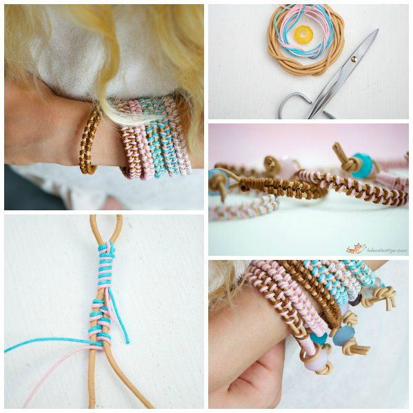 21 façons de trouver l'inspiration si vous avez envie de créer votre propre bracelet personnalisé. La plupart des idées et tutoriels sont facilement faisables. Mais ii vous avez des questions...