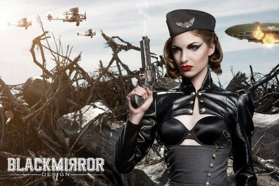 Hey, I found this really awesome Etsy listing at http://www.etsy.com/listing/57911555/black-leatherette-steampunk-aviator