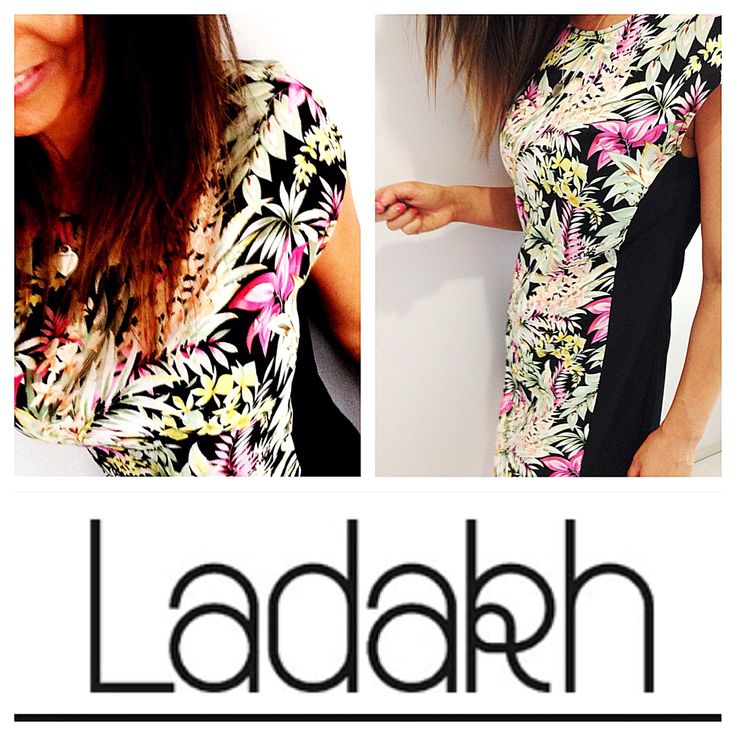 Covert Styling: Ladakh Silk mix dress in tropical print from myer.com.au ❤❤❤