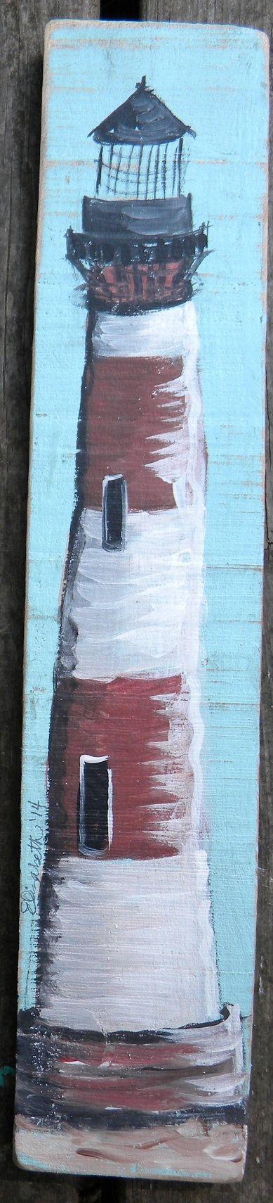 Vieja madera de la plataforma y granero se han convertido en la lona aquí! Una variedad de imágenes de la vida de mar están disponibles en estas superficies re-purposed. Los tamaños varían. Aprox. 14 x 3. Morris la isla faro de Folly Beach, SC