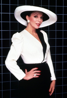 "Joan Collins' Dynasty | Grazia Fashion  ""Alexis Carrington""  Wow!"