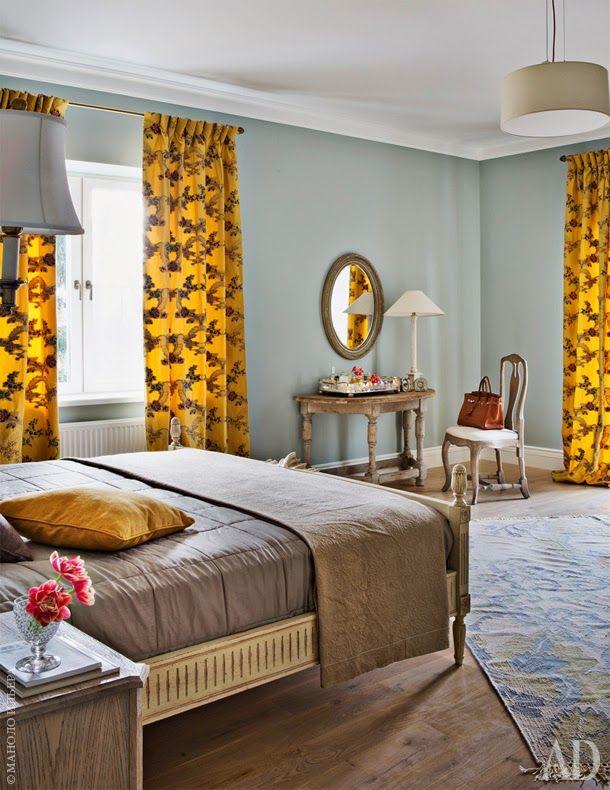 Die besten 25+ Yellow flat curtains Ideen auf Pinterest Gelbe - vorhnge modern schlafzimmer
