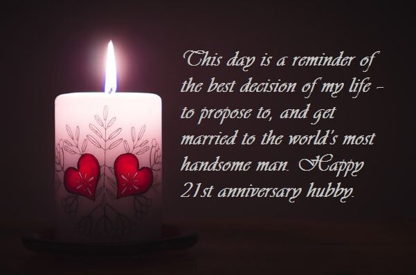 Happy 21st Marriage Anniversary Wishes Images Quotes 21st