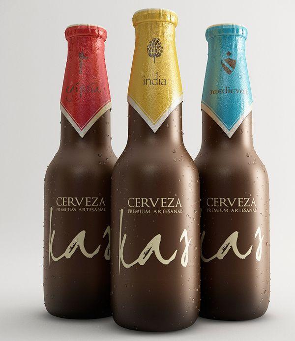 Kas Beer by Gustavo Palomino #design #packaging