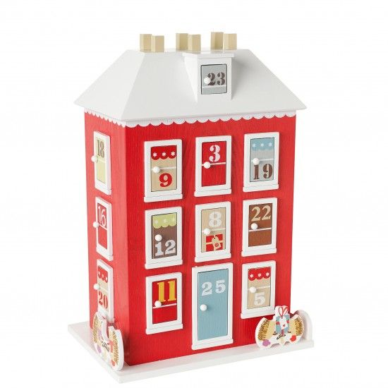 Wooden Advent House from John Lewis | Christmas advent calendars - best of 2011 | housetohome.co.uk