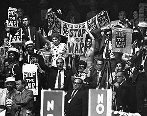 1968 Chicago Democratic Convention | The 1968 Democratic Convention in Chicago