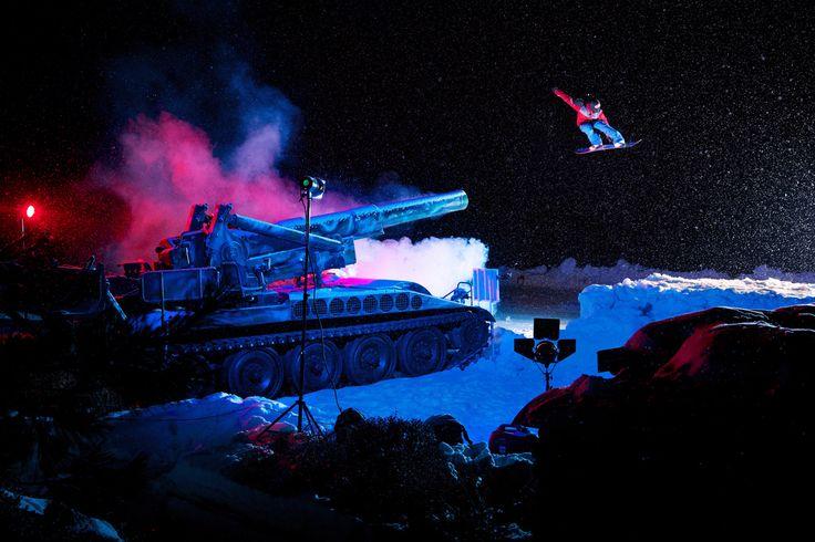 Snowboard Rider Ku Bonryul  By Korea Photographer Manchul Kim