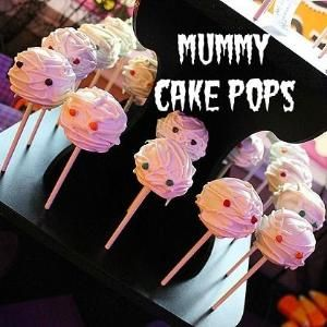 Mummy Cake Pops | Spoonful by Daisy Price