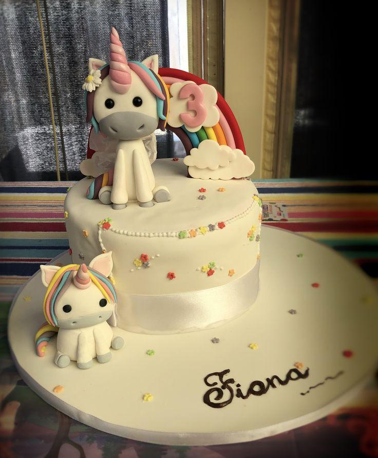 Fiona's birthday cake