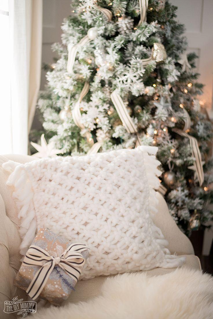 How to make a DIY soft macrame pillow cover