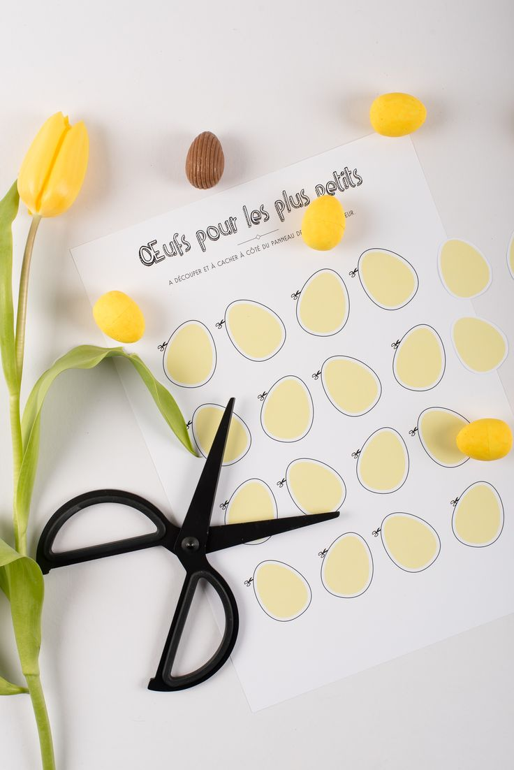 Kit chasse aux oeufs printable