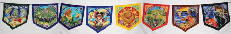 Wheel of the Year Prayer Flags : Pagan Store, Wiccan Store, Witchcraft Store, An online Pagan, Wiccan and Witchcraft store