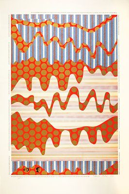 The Spirir of the Snake. From As is when by Eduardo Paolozzi - print