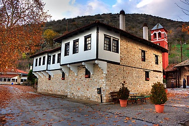 GREECE CHANNEL | Panagia Mauriotissa Monastery at Kastoria