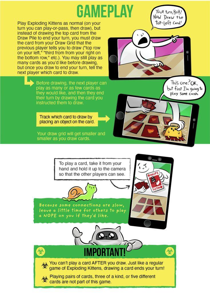 Oatmeal Exploding Kittens Exploding Kittens Card Game Kitten Art