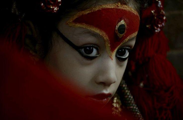 The Living Goddess Kumari