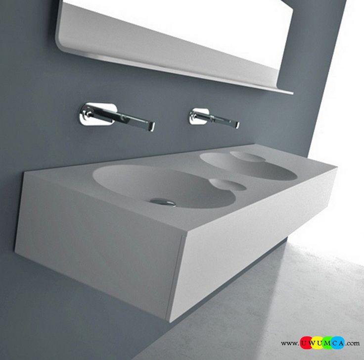 Bathroom:DNA  Vanity Sink Contemporary Modern Artisan Crafted Sinks Handcrafted Vessel Metal Sink Bathroom Interior Furniture Decor Design Ideas (3) Eco-Conscious, Artisan Crafted Sinks Sparkle With Contemporary Class