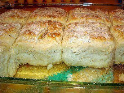 7-Up Biscuits (Only 4-Ingredients) - This very popular biscuit recipe is very easy to make and uses 7-up. You can't taste the 7-Up but these biscuits are very moist and delicious. Perfect side dish recipe.