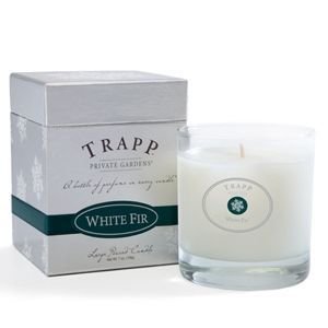 White Fir - 7oz Poured Candle | Trapp Candles $25.00 This candle smells just like a Christmas Tree - absolutely amazing!