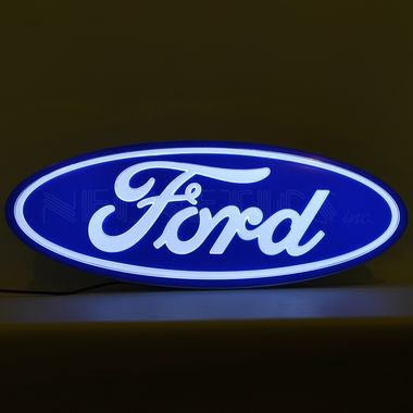 Neonetics 7FORD1 Ford Oval Shaped Backlit Sign