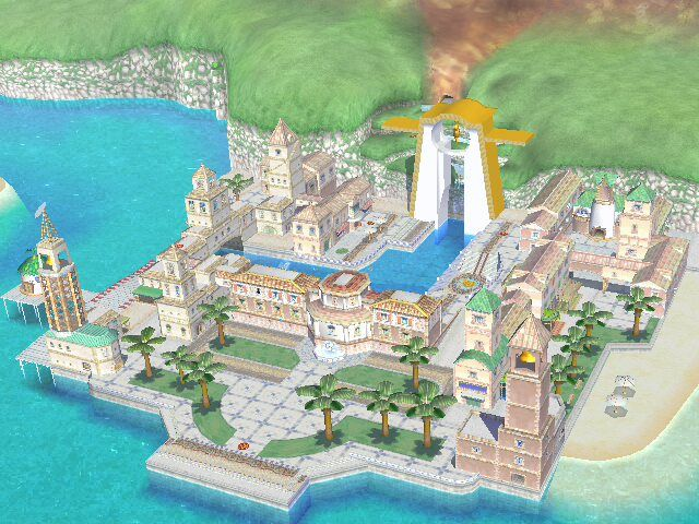 Delfino Plaza - Super Mario Sunshine
