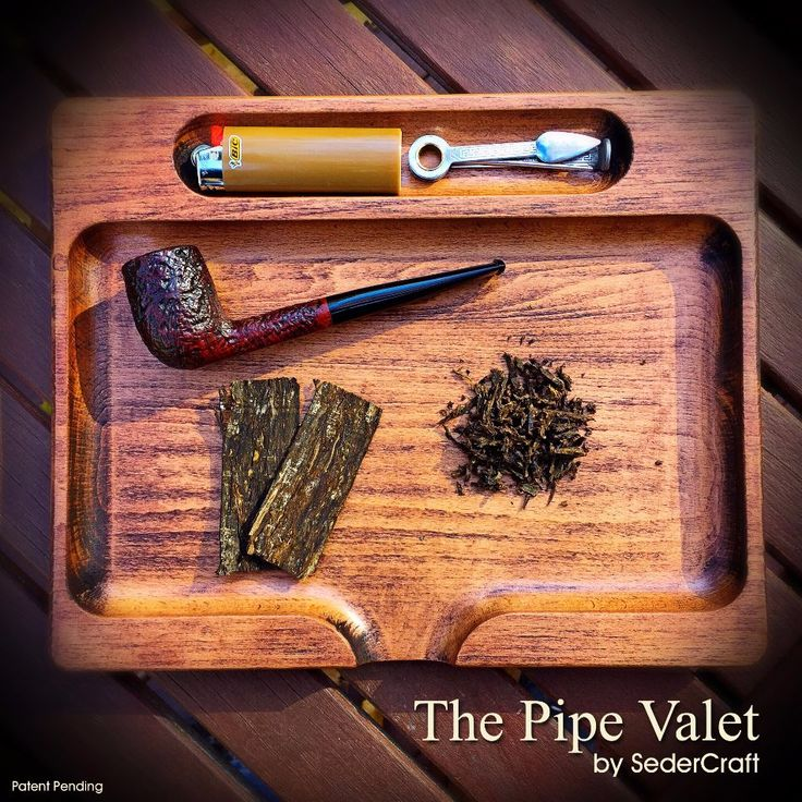 The Pipe Valet by SederCraft - pipe smoking accessory