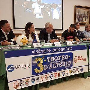 Carmine D'Alterio, Giuliana Tambaro, Gianfranco Coppola, Diego Armando Maradona jr, Claudio La Rocca, Sebastiano Scarfato