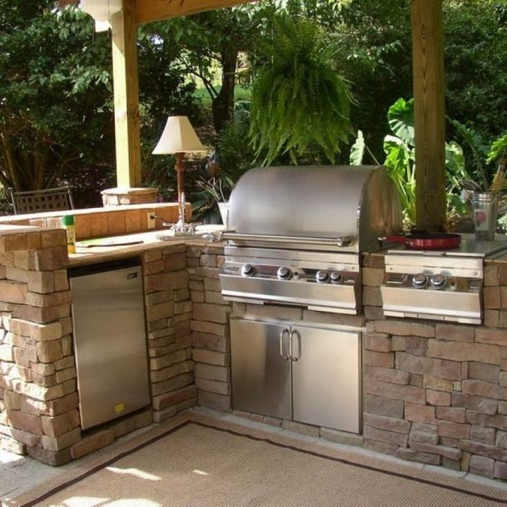 Amazing Outdoor Kitchens That You Might Have While Living: Top 25+ Best Rustic Outdoor Kitchens Ideas On Pinterest