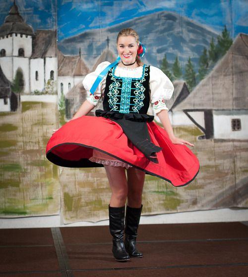 thisistraditionalwhiteculture: Slovak Folk Dancing Costume Šariš region, Eastern Slovakia.(Source: californiaphotodreams.com)