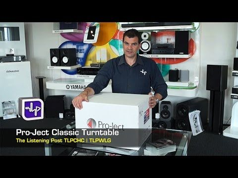 Pro-Ject The Classic Turntable Unboxing | The Listening Post | TLPCHC TL...