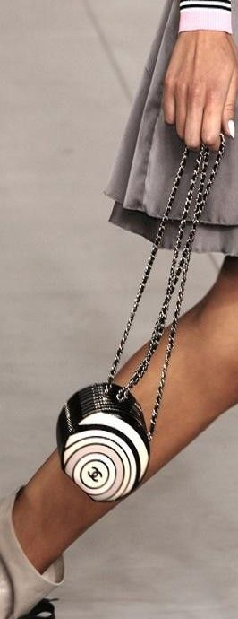 Chanel ...This purse reminds me of a grown up version of a purse that I had as a little girl.