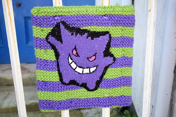 Pokemon yarn bomb style