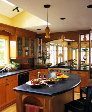 Orange Light Fixtures: Orange Lights, Dreams Houses, Dreams Kitchens, Lights Fixtures, Kitchens Ideas, Houses Ideas, Houseroom Ideas, Open Kitchens, Kitchens Cabinets