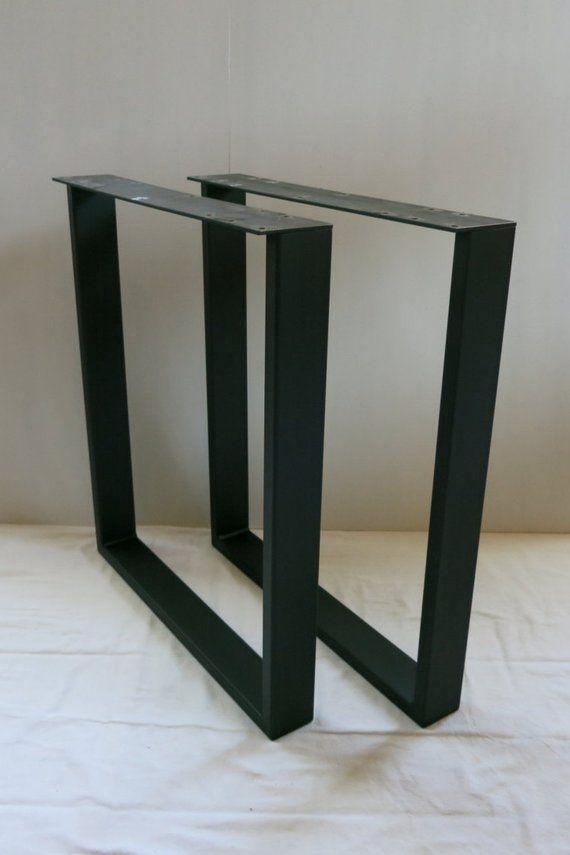3x1 U Shape Table Legs Set Of 2 Table Legs Table Modern Table