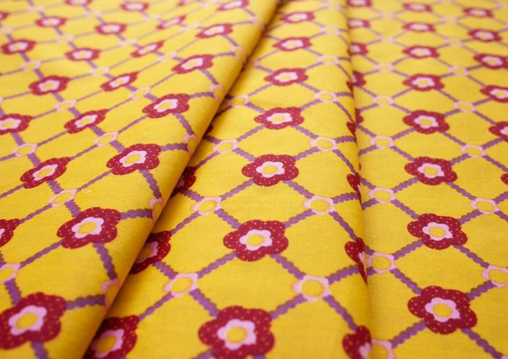 Saffron Craig Valley View Flowers in the Lattice