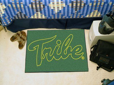 """College of William & Mary Starter Rug 20""""x30"""" by Fanmats. $13.68. College of William & Mary Starter Rug 20""""x30""""Decorate your home or office with area rugs by FANMATS. Made in U.S.A. 100% nylon carpet and non-skid recycled vinyl backing. Officially licensed and chromojet printed in true team colors. Please note: These products are custom made. The normal lead time is about 7-10 business days. However, the putting mats and carpet tiles do take a little longer, ab..."""