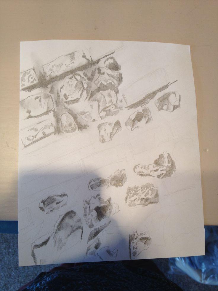 Detailed sketch