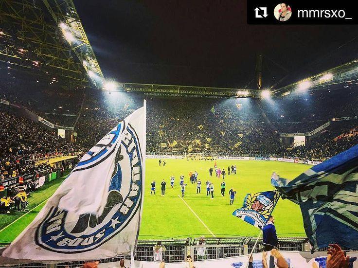 #Repost @mmrsxo_  Was für ein Spiel  #hahohe #herthabsc #hertha #berlin #dortmund #bvb #borussiadortmund #signalidunapark #awaygame #soccer #friday #spieltag #matchday #berlinersportclub #nrw #ruhrgebiet #ruhrpott #germany #gästeblock #ig_nrw