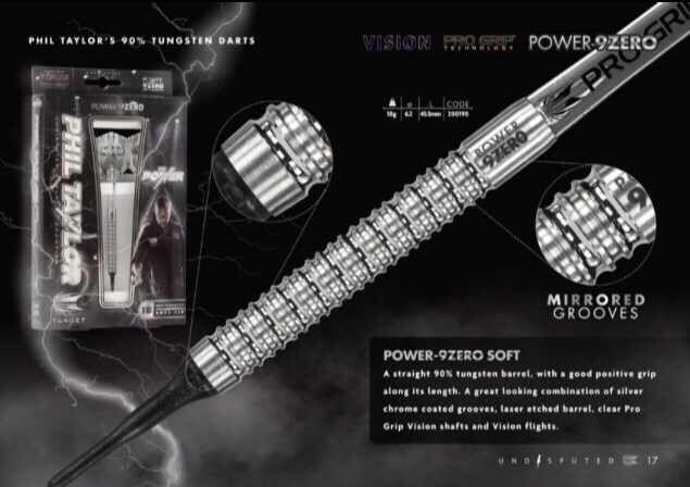 Power 9zero Phil Taylor darts