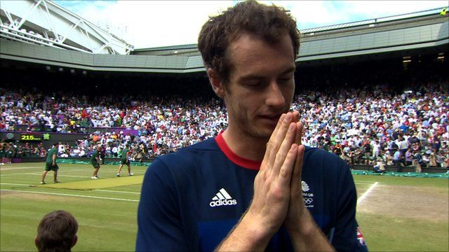 Andy Murray wins men's singles Olympics tennis gold. #Olympics