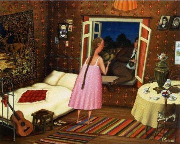 Губарев - иллюстрация для советского концепта 5