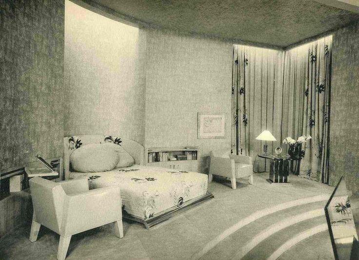 115 best ART DECO BEDROOM images on Pinterest | Art deco bedroom ...