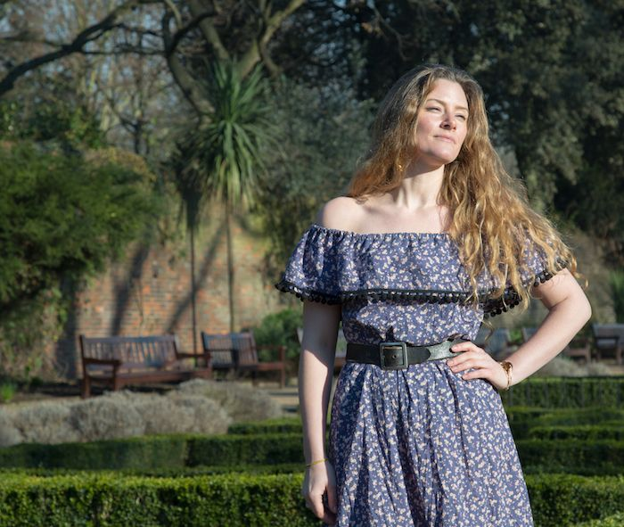Draft-it-yourself: Off the shoulder ruffled sundress – By Hand London