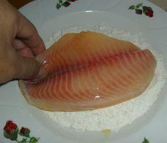 como empanizar pescado