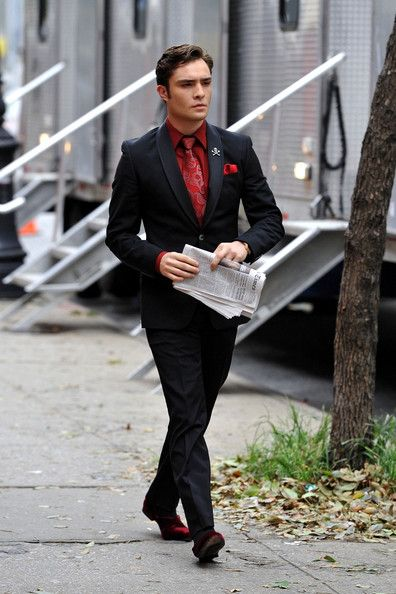 Ed Westwick Pictures - Ed Westwick and Taylor Momsen Film on the Lower East Side - Zimbio