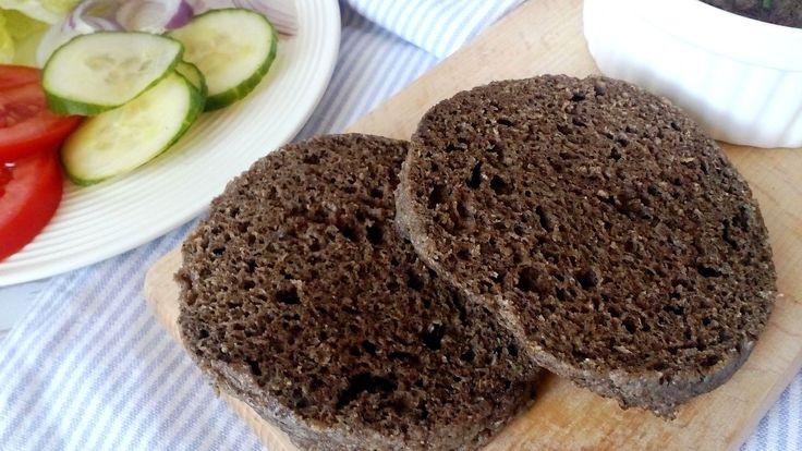Diétás zsemle (gluténmentes zsemle recept)